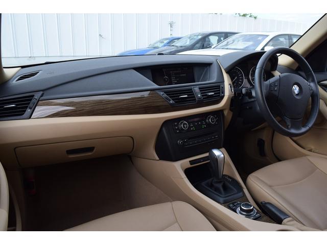 BMW BMW X1 sDrive 18i ハイライン ベージュ革 純ナビ 地デジ