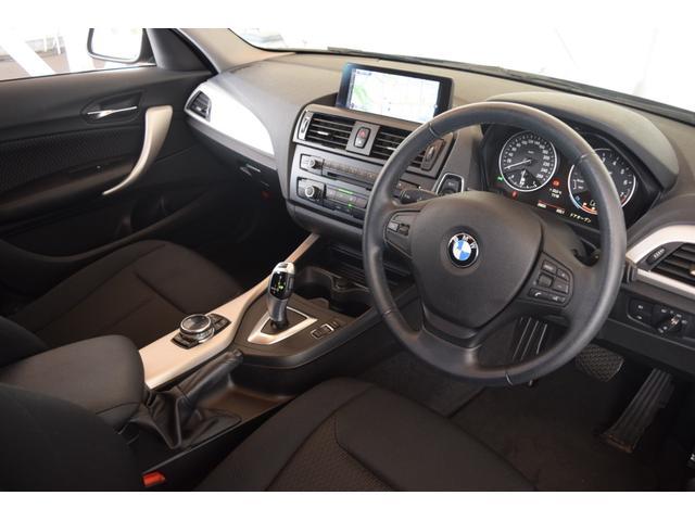 116i 正規認定中古車 認定中古車 純正HDDナビ キセノンヘッドライト ETC CD AUX接続 ミュージック・サーバー 社外フロント・ドライブレコーダー アルミ・ホイール(12枚目)