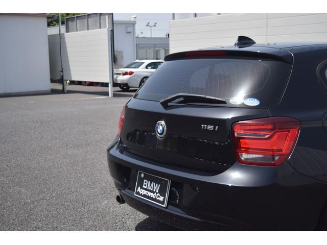 116i 正規認定中古車 認定中古車 純正HDDナビ キセノンヘッドライト ETC CD AUX接続 ミュージック・サーバー 社外フロント・ドライブレコーダー アルミ・ホイール(29枚目)