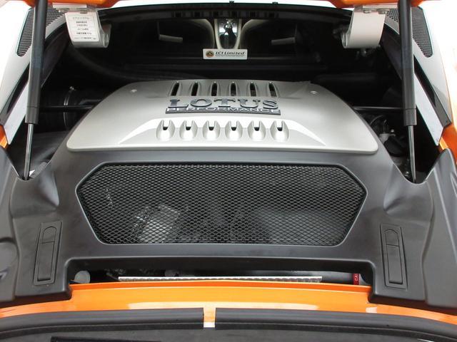 ロータス ロータス エヴォーラ 2シーター白革HDDナビBカメ社外マフラHID正規ワンセグ
