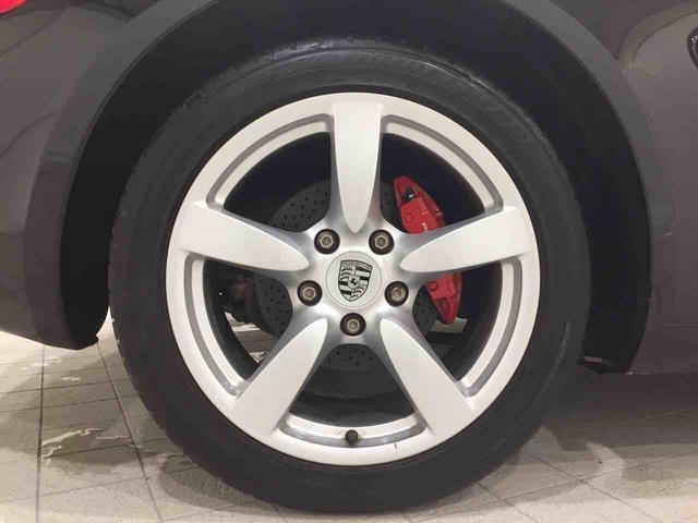 ポルシェ ポルシェ ケイマン S スポーツクロノ赤キャリHDDナビMSV黒革熱席スポM