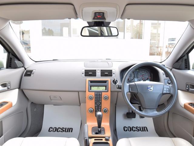 ボルボ ボルボ C30 2.4i SE ワンオーナー ベージュ本革 パワーシート