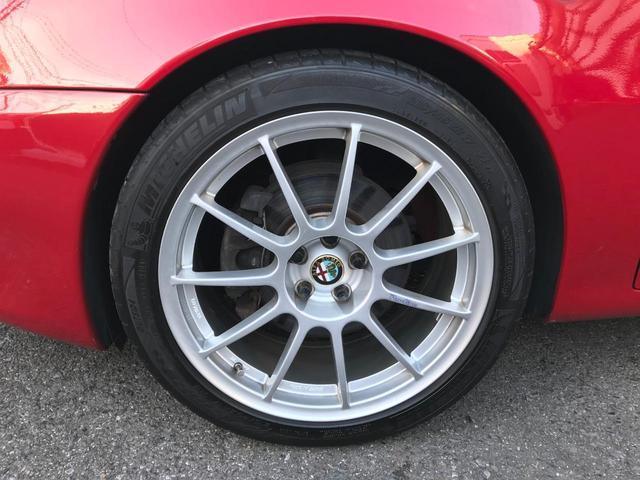 アルファロメオ アルファ147 2.0 ツインスパーク アルミ 車高調 マフラー