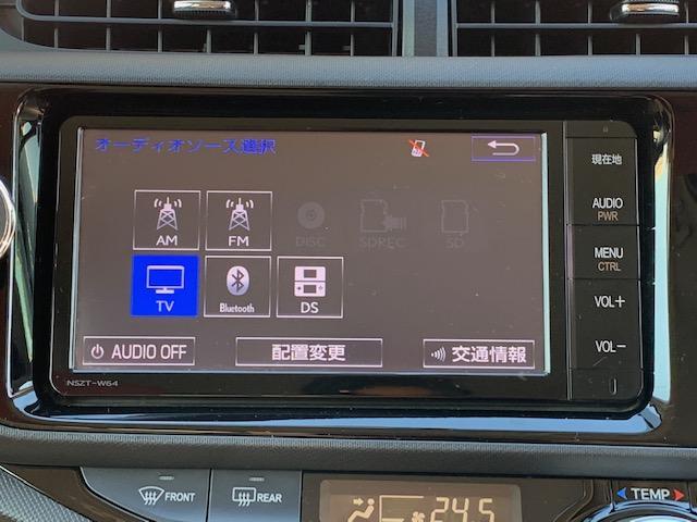 ドライブには欠かせない純正ナビ☆CD・SD再生はもちろん地デジTV視聴にBT・AUX接続とドライブが盛り上がるナビです♪