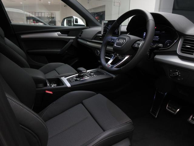 [標準装備]ランバーサポート 4ウェイ(フロント)/リヤシートベンチ プラス/電動調整機能(フロント) メモリー機能(ドライバーサイド)/Audi connect セーフティ&サービス