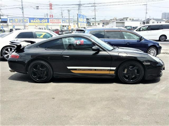 911カレラ4 GT3仕様 ポルシェデザイン 社外マフラー 下取り車 4WD(4枚目)