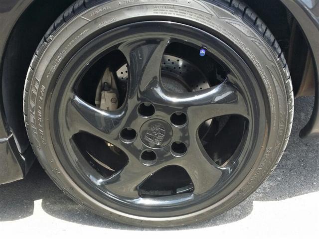 911カレラ4 GT3仕様 ポルシェデザイン 社外マフラー 下取り車 4WD(19枚目)