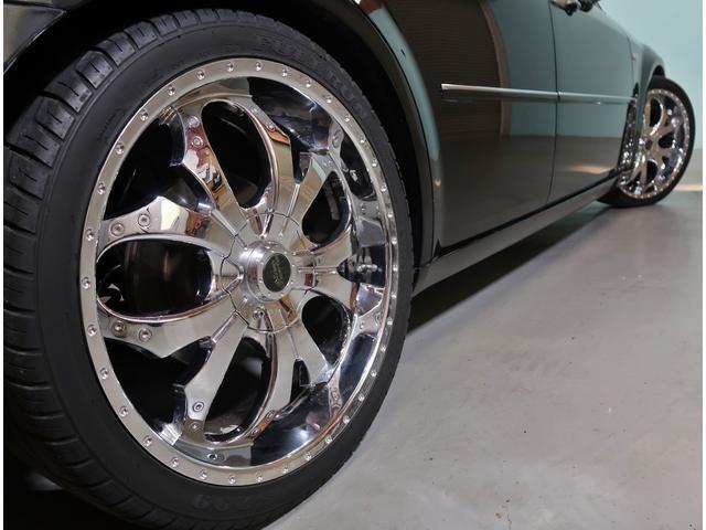 3.5 D車HDDナビ本革電動暖席HID社外22AW車高調(6枚目)