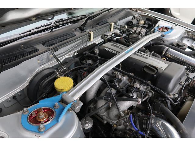 タイプG NA改ターボ後期型サンルーフ社外マフラー/インタークーラー/エアクリ車高調(9枚目)