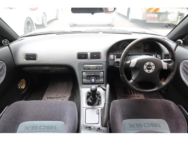 タイプG NA改ターボ後期型サンルーフ社外マフラー/インタークーラー/エアクリ車高調(12枚目)