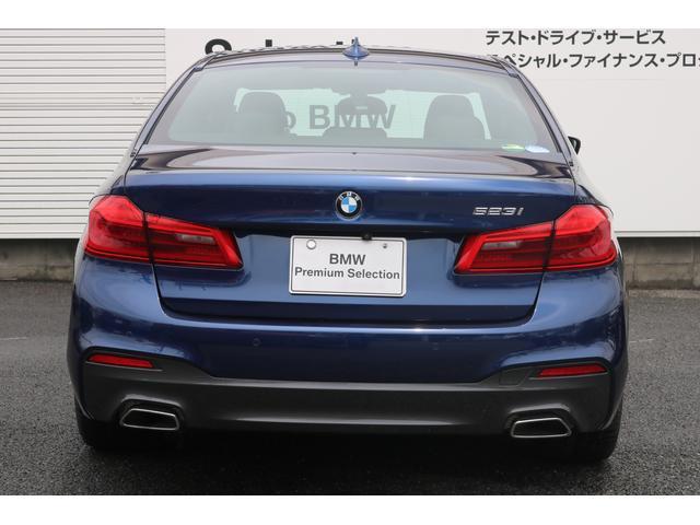 523i Mスポーツ 認定中古車 レザー(4枚目)