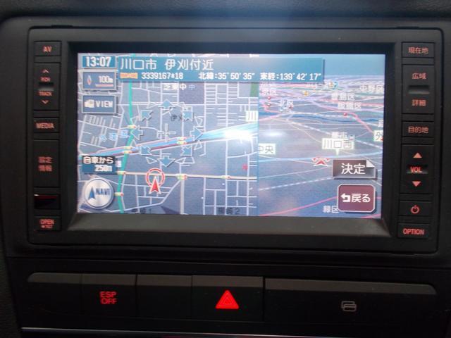 スポーツバック1.4TFSI 2009後期モデル 地デジTV(19枚目)