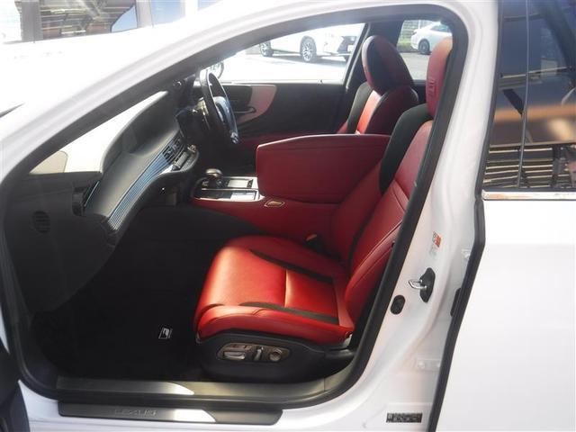 LS500 Fスポーツ 寒冷地仕様 ムーンルーフ デジタルインナーミラー ドライブレコーダー カーボンリヤスポイラー TRDフルスポイラー リモートスタートプレミアム ブレーキキャリパー赤塗装済み(16枚目)