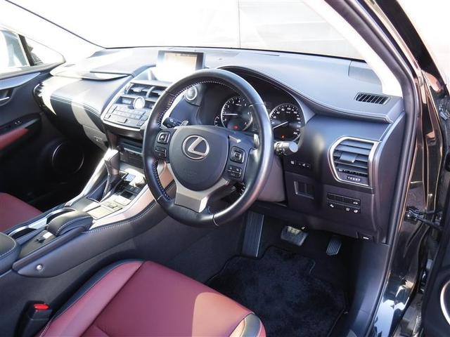 NX200t Iパッケージ 18インチアルミホイール プリクラッシュセーフティシステム パワートランクリッド ホイルロックナット リヤバンパーステップガード 認定中古車CPO(6枚目)