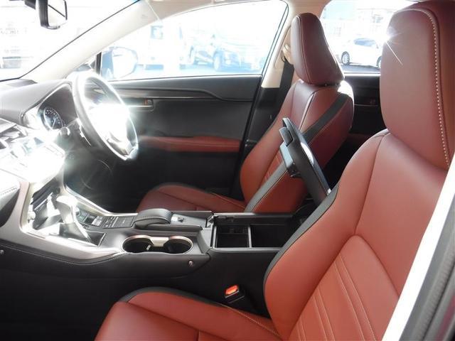 NX200t Iパッケージ 18インチアルミホイール プリクラッシュセーフティシステム パワートランクリッド ホイルロックナット リヤバンパーステップガード 認定中古車CPO(8枚目)