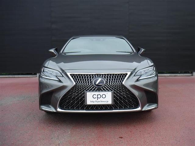 LS500h エグゼクティブ 認定中古車CPO(5枚目)