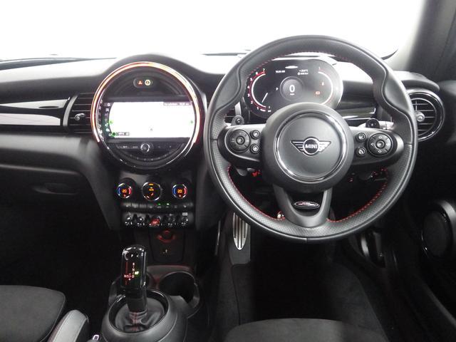 ジョンクーパーワークス ペッパーパッケージ マルチスピードメーター ヘッドアップディスプレイ シートヒーター 正規認定中古車(15枚目)