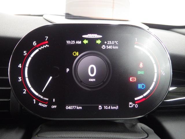 ジョンクーパーワークス ペッパーパッケージ マルチスピードメーター ヘッドアップディスプレイ シートヒーター 正規認定中古車(16枚目)
