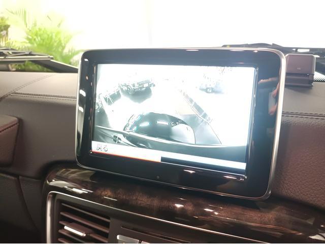 G350 ブルーテック ラグジュアリーパッケージ G63仕様バンパー ワイドフェンダー パナメリカーナタイプグリル 6×6スタイルフロントルーフスポイラー LEXANI24AW ラゲッジボード HDDナビTV ブラックレザー(42枚目)