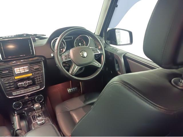 G350 ブルーテック ラグジュアリーパッケージ G63仕様バンパー ワイドフェンダー パナメリカーナタイプグリル 6×6スタイルフロントルーフスポイラー LEXANI24AW ラゲッジボード HDDナビTV ブラックレザー(45枚目)