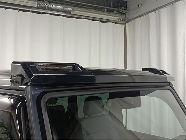 G350 ブルーテック ラグジュアリーパッケージ G63仕様バンパー ワイドフェンダー パナメリカーナタイプグリル 6×6スタイルフロントルーフスポイラー LEXANI24AW ラゲッジボード HDDナビTV ブラックレザー(75枚目)