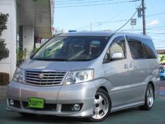 アルファードGMX Lエディション 社外アルミ 車高調 マフラ−