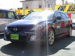 アテンザスポーツワゴン25Z 6速MT BOSEサウンド 1オーナー車 HDDナビ
