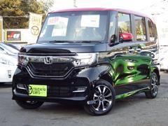 N BOXカスタムG・Lホンダセンシング 届出済未使用車オートスライドドアLE