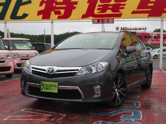 トヨタ G 本革シート12セグHDDナビBカメラHIDキーフリーET