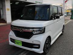N BOXカスタムG・EXターボホンダセンシング 届出済未使用車 LEDライト