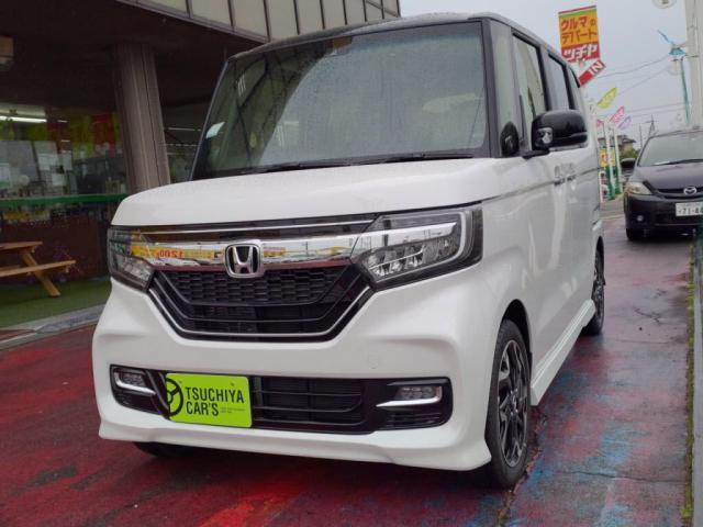 ホンダ N-BOXカスタム G・EXターボホンダセンシング 届出済未使用車 LEDライト