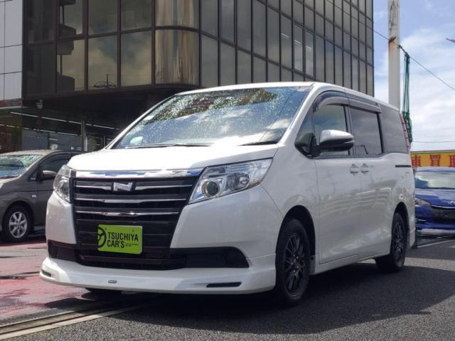 トヨタ ノア X Vパッケージ メモリーナビ フルセグTV Fダウンモニタ- 1オーナー