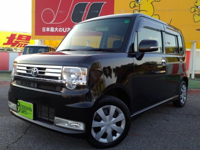トヨタ ピクシススペース カスタム X 禁煙車HIDキーフリーETCアイドリングS