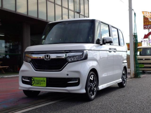 ホンダ G・EXターボホンダセンシング 届出済未使用車 LEDライト両Aドア衝突軽減BキーフリETC