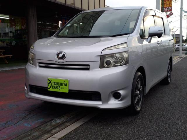 トヨタ ヴォクシー X Lエディション 禁煙車HDDナビBカメラ左AドアHIDキーフリーETC