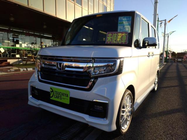 ホンダ EX・ターボ 届出済未使用車 LEDライト両Aドア衝突軽減Bキーフリー