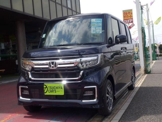 ホンダ N-BOXカスタム G・L 届出済未使用車 左AドアLEDライト衝突軽減Bキーフリー