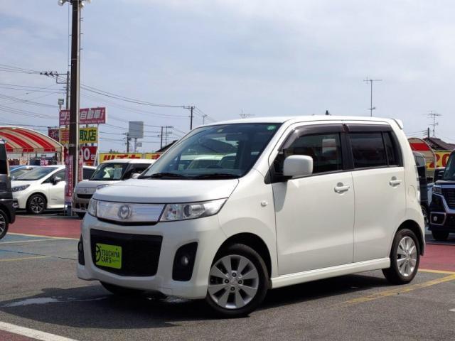 マツダ AZワゴンカスタムスタイル XS メモリーナビフルセグTVキ-フリ-走行35500Km