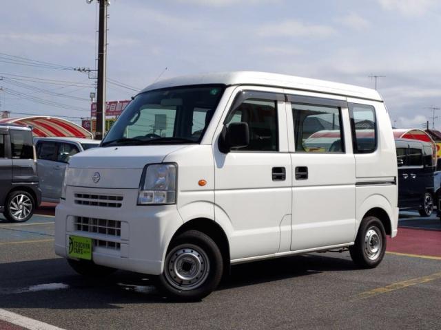 日産 NV100クリッパーバン DX パワ-ステアリング A/C 走行5800Km