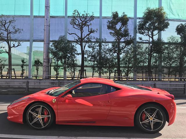 フェラーリ フェラーリ 458イタリア カーボンLEDステアリング