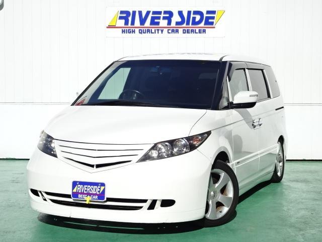 ホンダ GエアロHDDナビスペシャルパッケージ 車高調 革調カバー