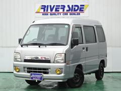 サンバーバンVCプラス DVDナビ ETC キーレス 4WD