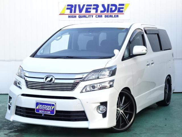 トヨタ 2.4Z G EDITION 7人 HDDナビ 車高調