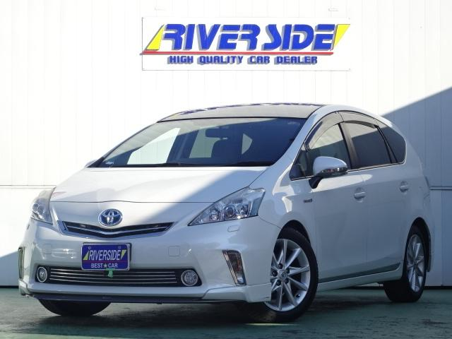 Photo of TOYOTA PRIUS ALPHA G TOURING SELECTION / used TOYOTA