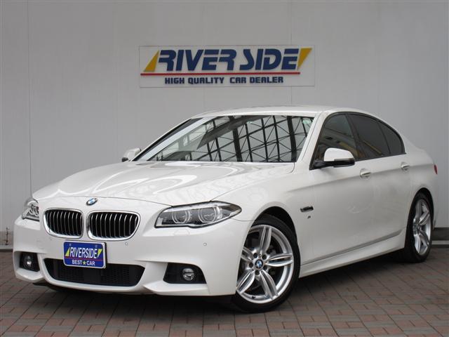 BMW 5シリーズ 523d Mスポーツ ワンオーナー 記録簿 衝突被害軽減システム ナビ&TV 革シート