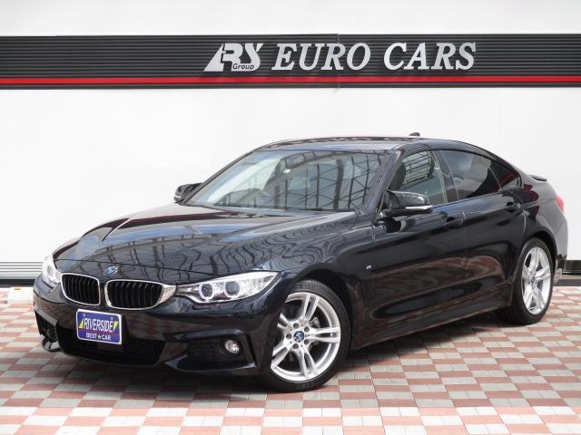 BMW 420iグランクーペ Mスポーツ 純正18インチアルミ Rスポイラー スマートキー クルコン プッシュスターター パドルシフト HID ドラレコ ミラーETC インテリジェントセーフティ パワーバックドア Bカメラ 純正ナビ