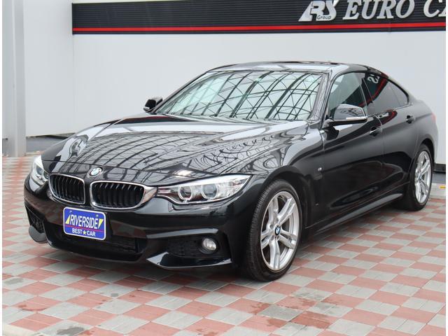BMW 4シリーズ 420iグランクーペ Mスポーツ HIDライト 純正18インチアルミ ミラーウインカー 純正フォグライト スマートキー プッシュスターター メモリーパワーシート パドルシフト クルコン ミラー型ETC 純正HDDナビ Bカメラ