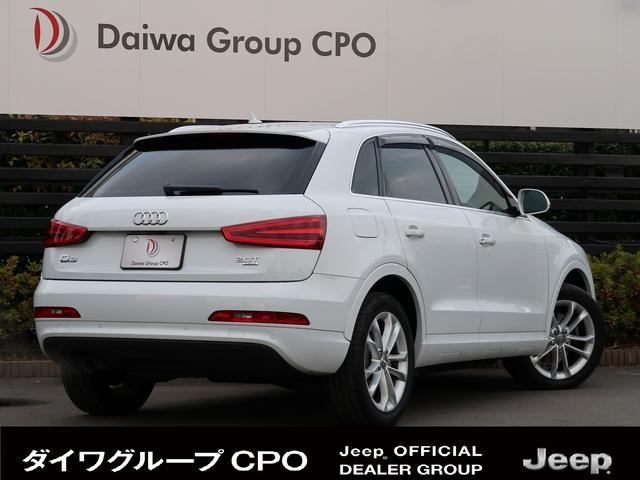 「アウディ」「アウディ Q3」「SUV・クロカン」「東京都」の中古車35