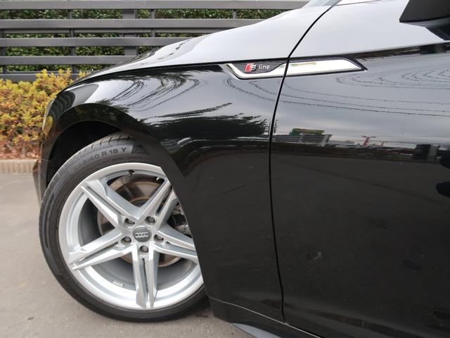 40TFSIスポーツ S line   新車保証 ワンオーナー 走行約12000km アルカンターラハーフレザーシート バーチャルコックピット アダプティブクルーズコントロール(55枚目)