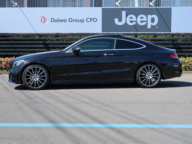 C180クーペ スポーツ 走行約11500km ガラスルーフ ブラックレザーシート シートヒーター ヘッドアップディスプレイ 新車保証 パフュームアトマイザー(2枚目)
